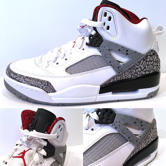 info for 40d09 996ed Jordan Other - Men s Air Jordan Spizike OG White Cement Grey New